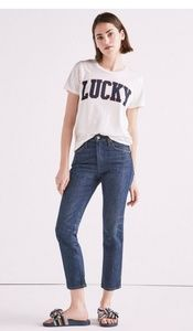 Luck pins lucky high rise jeans clover edition